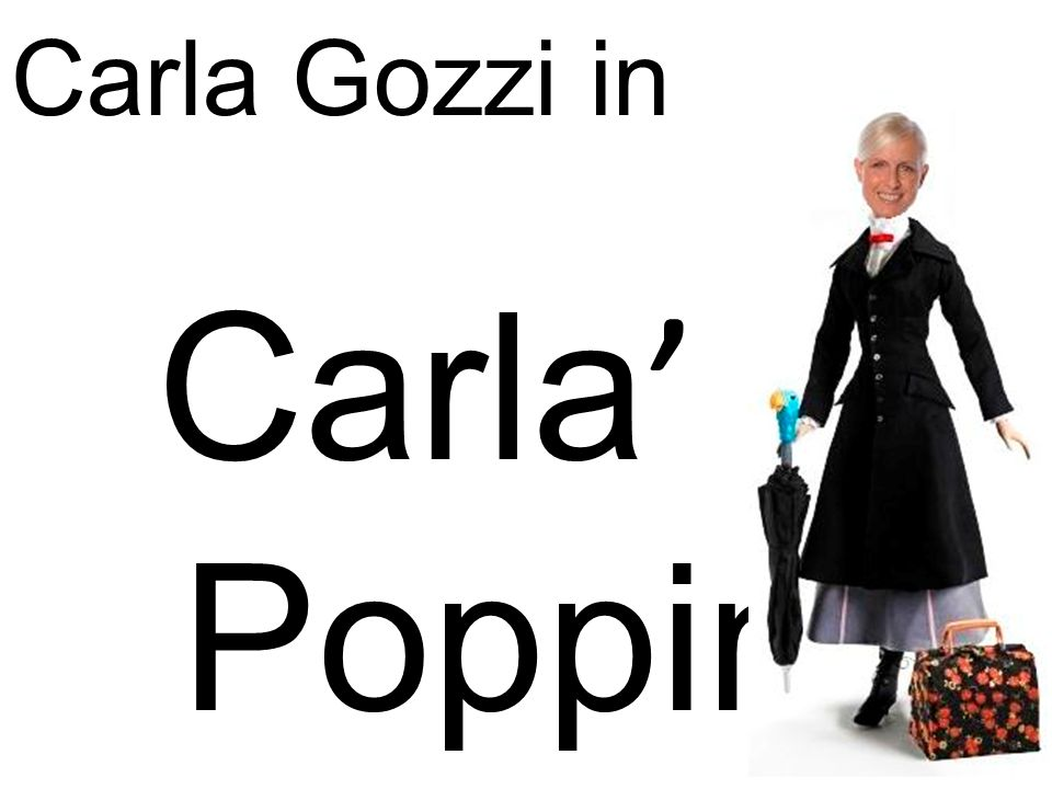 Carla Gozzi in Carla' Poppins