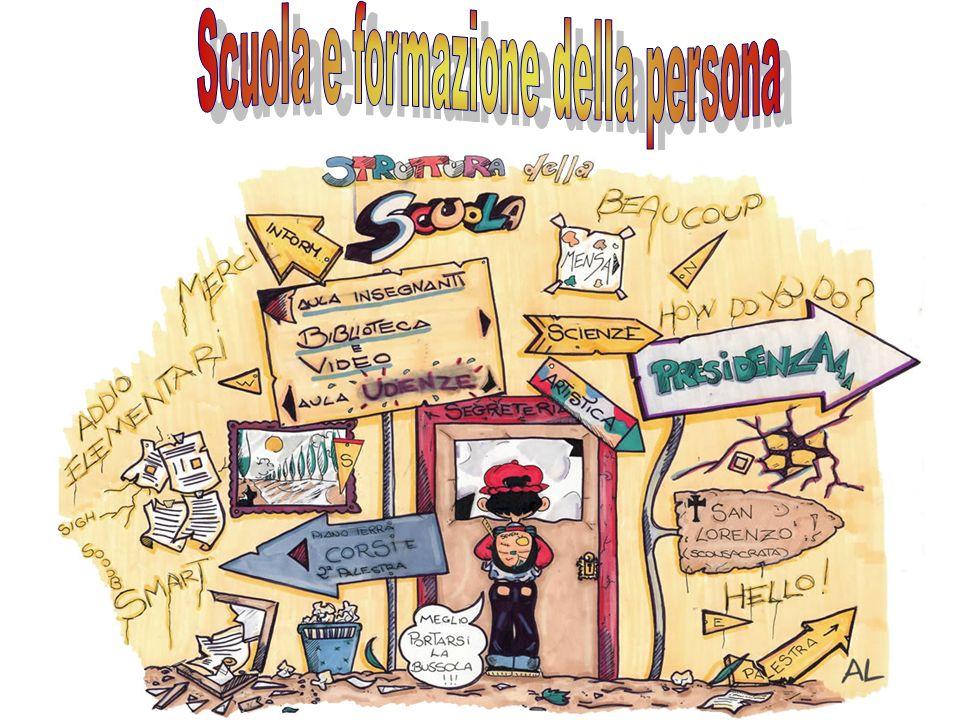 Scuola e formazione della persona
