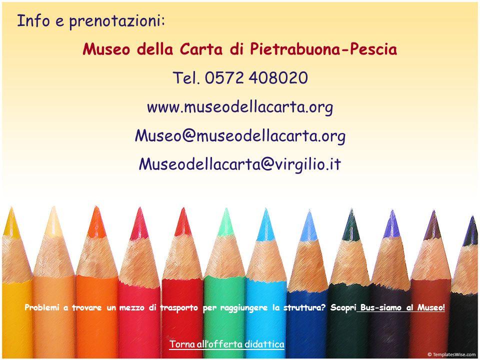 Museo della Carta di Pietrabuona-Pescia