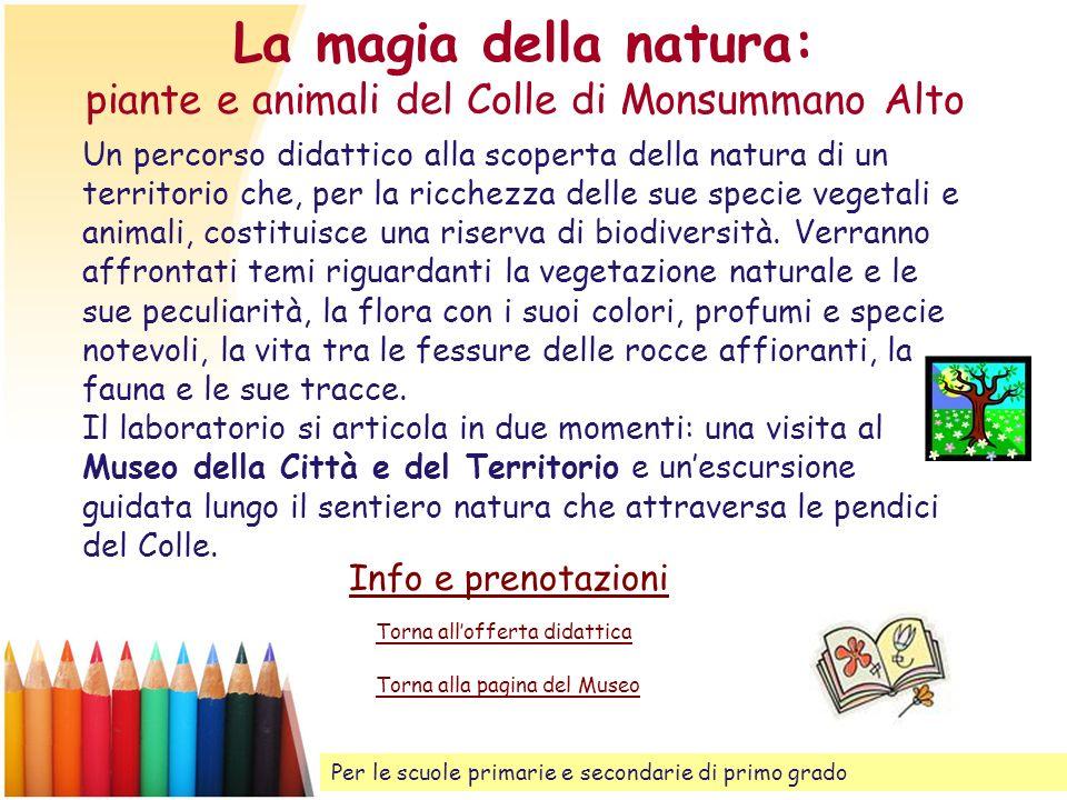 La magia della natura: piante e animali del Colle di Monsummano Alto