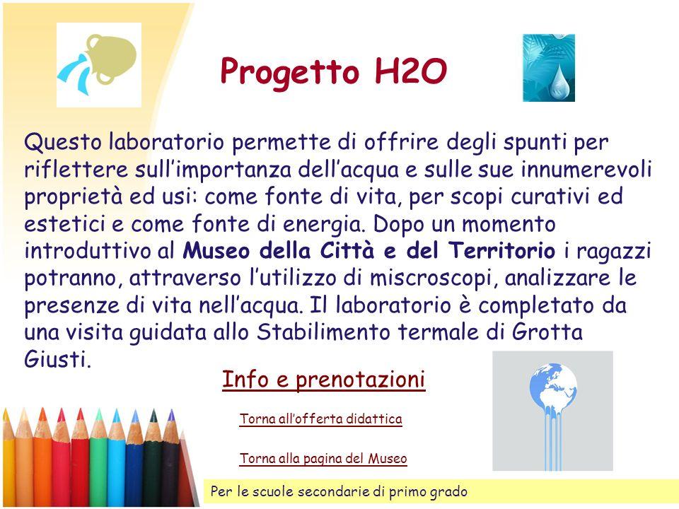 Progetto H2O