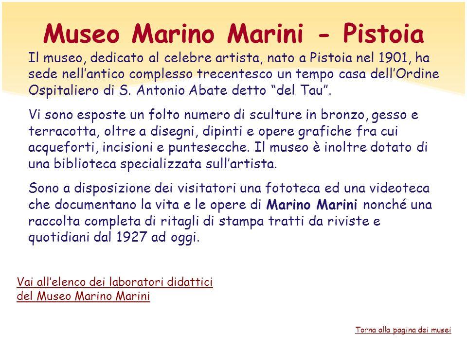 Museo Marino Marini - Pistoia