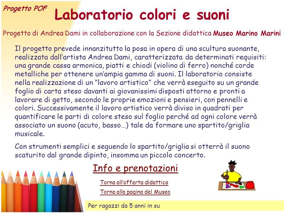 Laboratorio colori e suoni