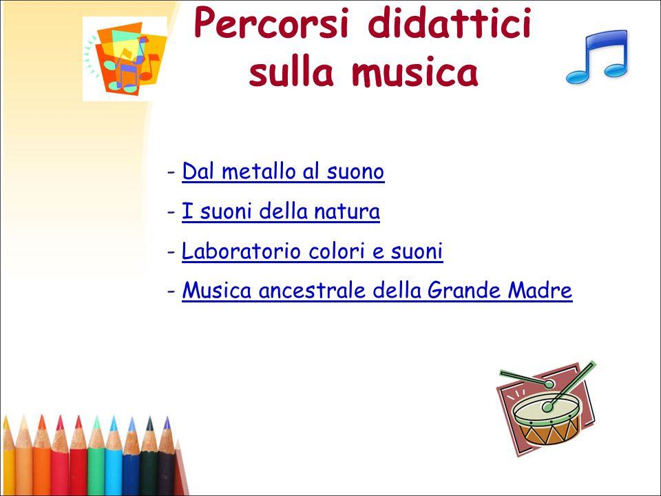 Percorsi didattici sulla musica