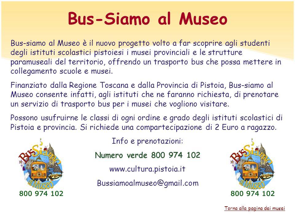 Bus-Siamo al Museo