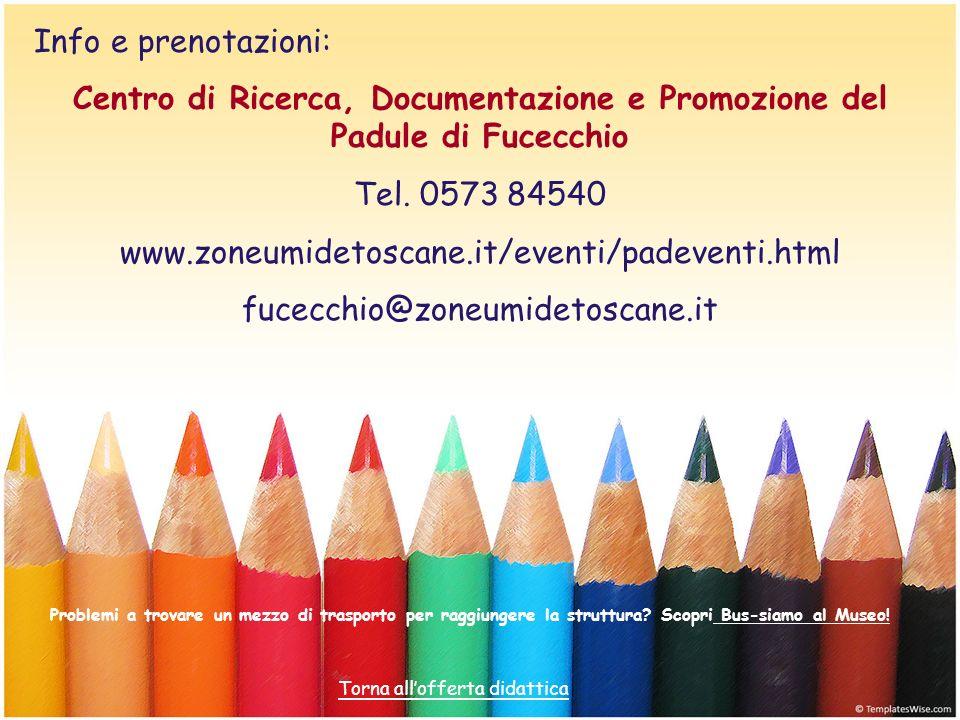 Centro di Ricerca, Documentazione e Promozione del Padule di Fucecchio