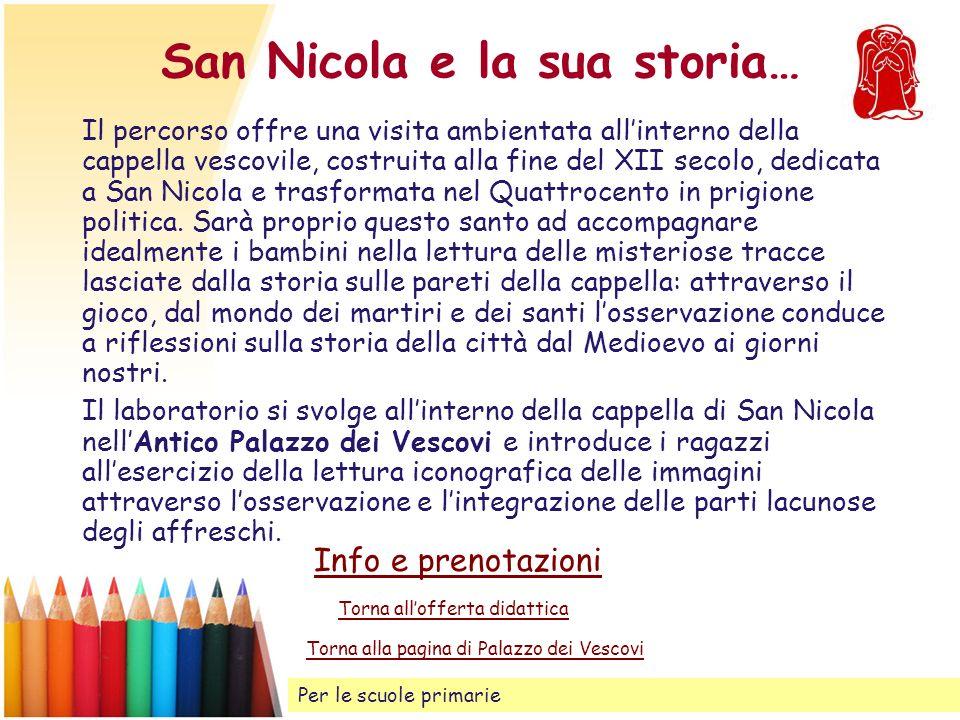 San Nicola e la sua storia…