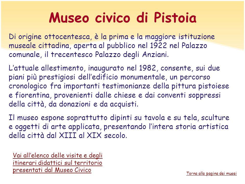 Museo civico di Pistoia