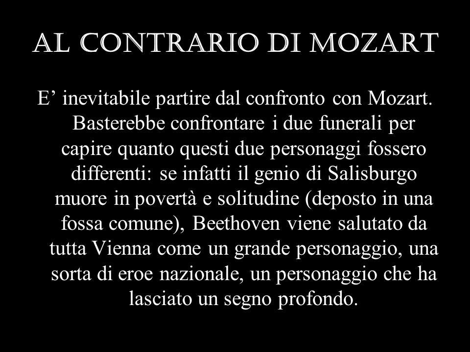 Al contrario di Mozart