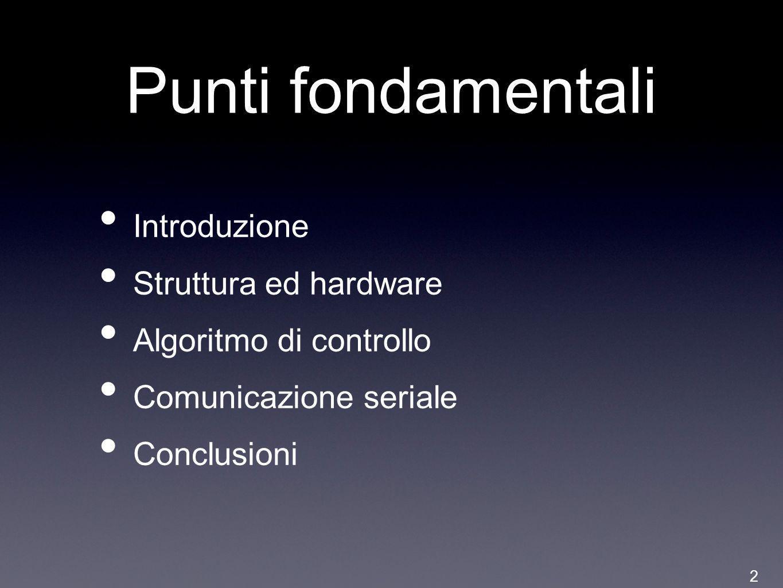 Punti fondamentali Introduzione Struttura ed hardware