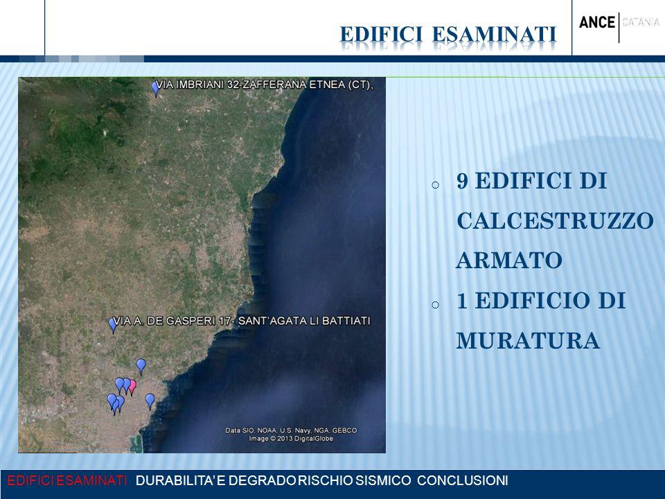 9 EDIFICI DI CALCESTRUZZO ARMATO