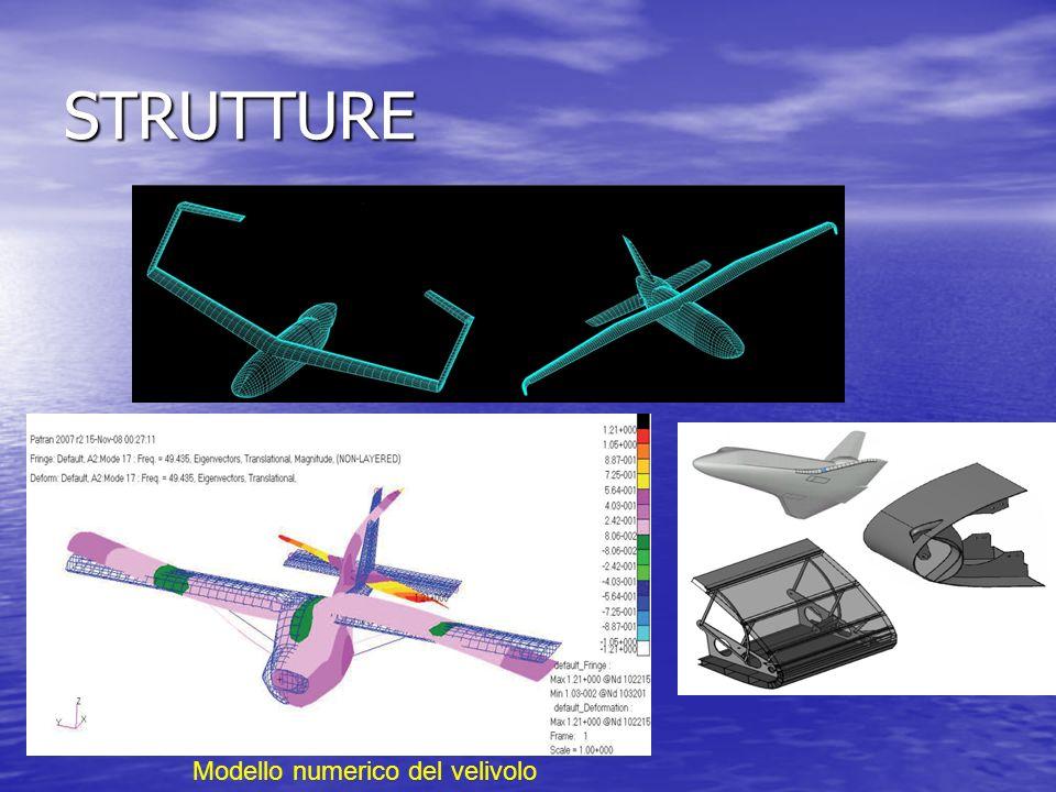 STRUTTURE Modello numerico del velivolo
