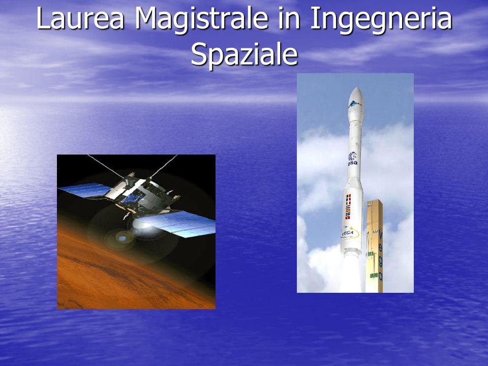 La facolt di ingegneria aeronautica e dello spazio prof for Laurea magistrale design