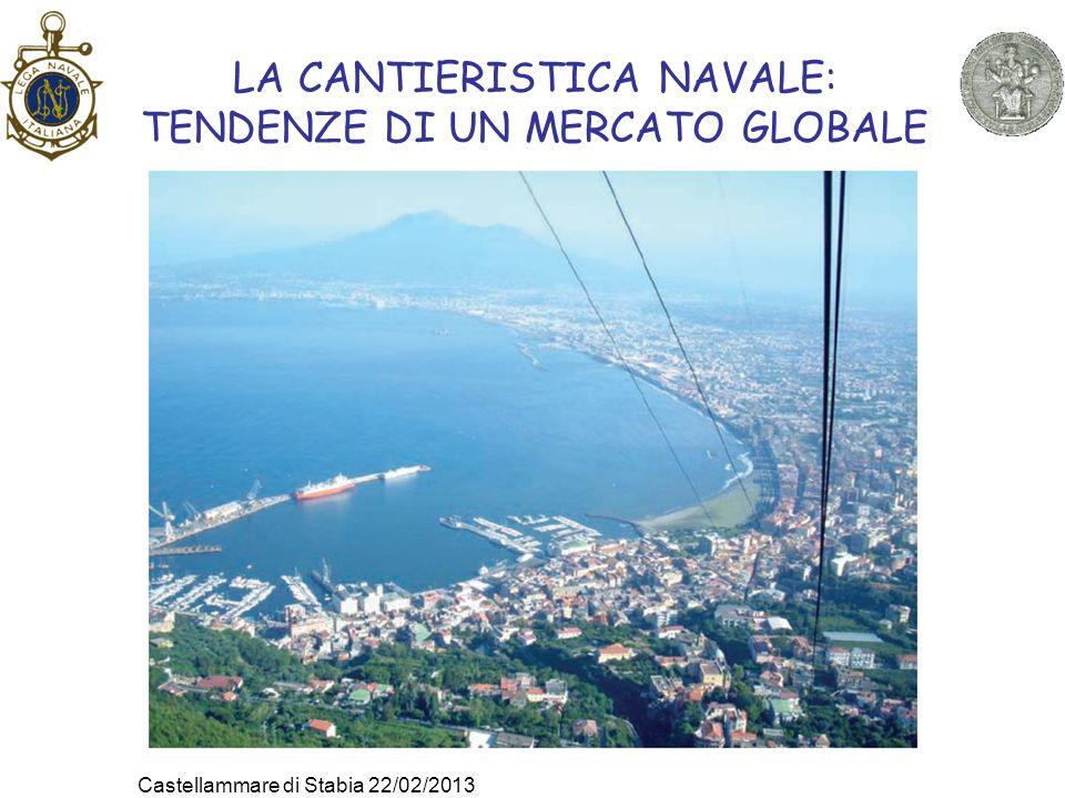 LA CANTIERISTICA NAVALE: TENDENZE DI UN MERCATO GLOBALE