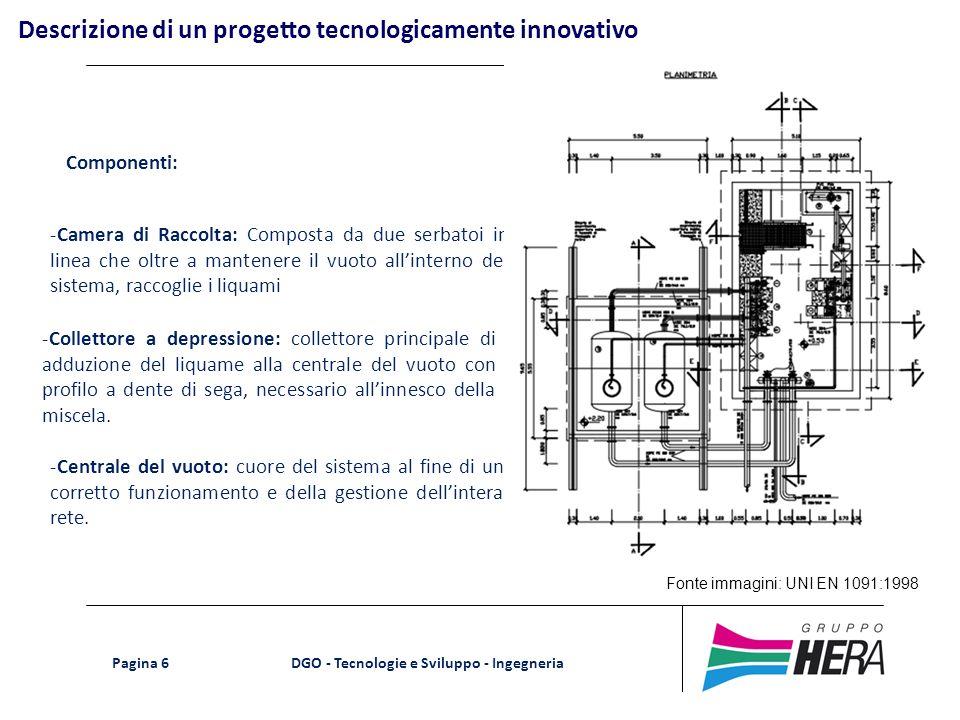Descrizione di un progetto tecnologicamente innovativo