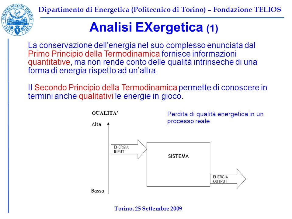 Analisi EXergetica (1)