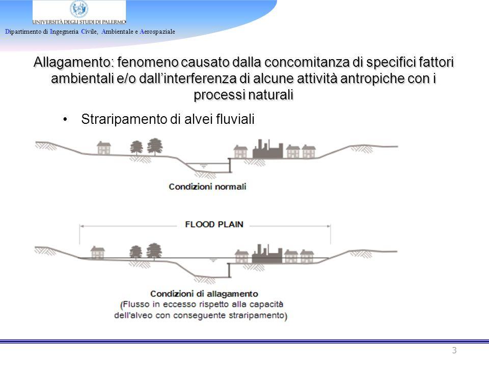 Allagamento: fenomeno causato dalla concomitanza di specifici fattori ambientali e/o dall'interferenza di alcune attività antropiche con i processi naturali