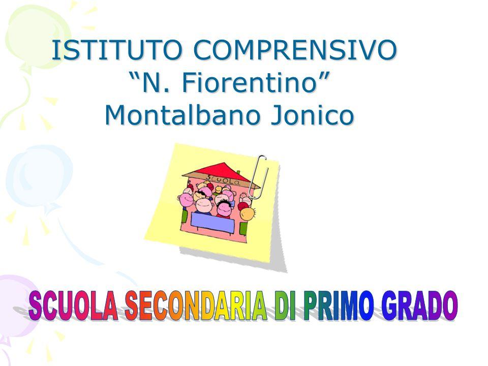 ISTITUTO COMPRENSIVO N. Fiorentino Montalbano Jonico