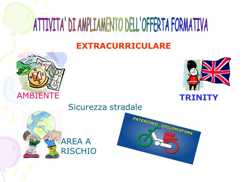 ATTIVITA DI AMPLIAMENTO DELL OFFERTA FORMATIVA