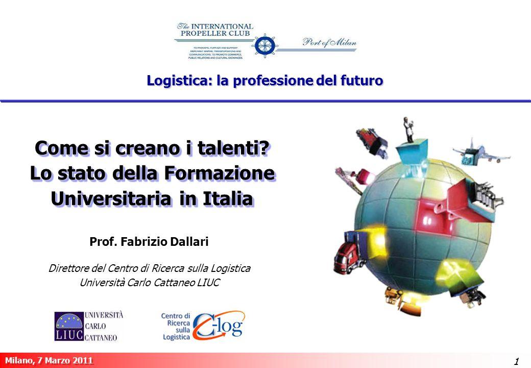 Logistica: la professione del futuro