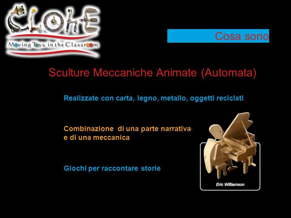 Sculture Meccaniche Animate (Automata)