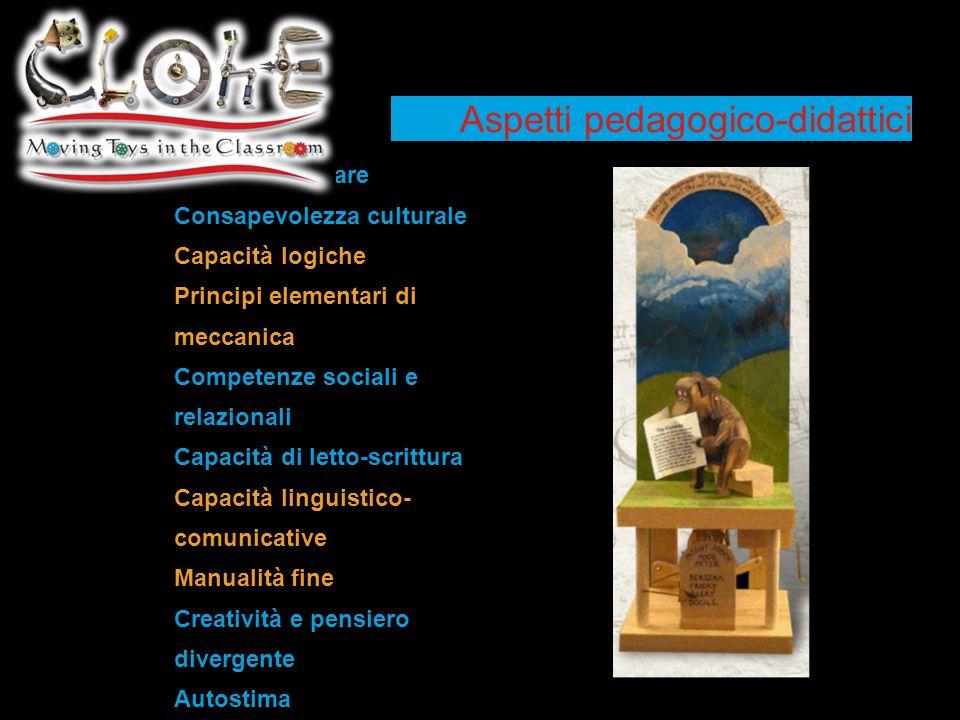Aspetti pedagogico-didattici
