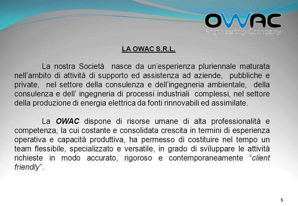 LA OWAC S.R.L.