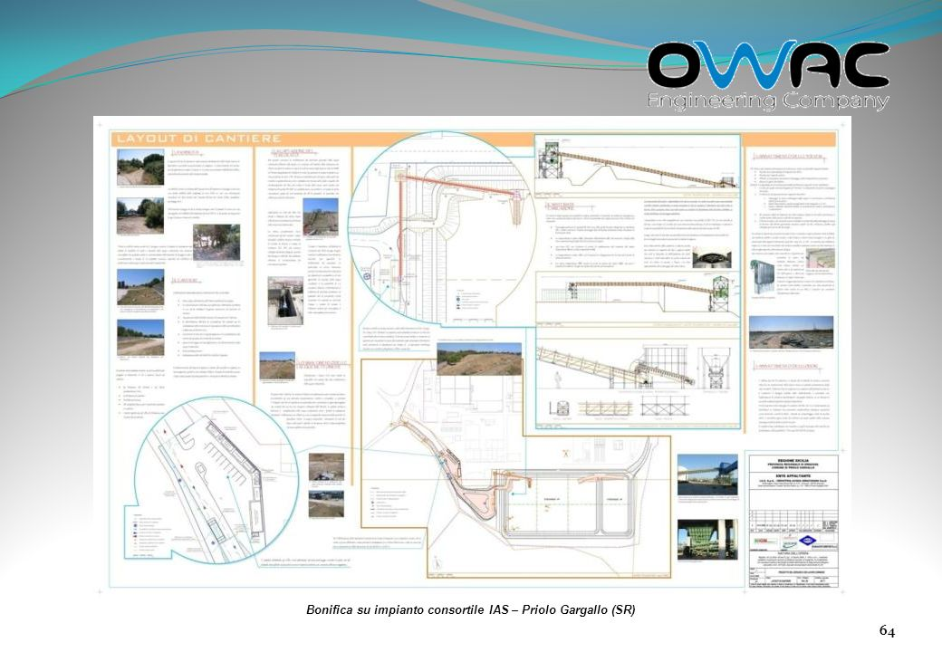 Bonifica su impianto consortile IAS – Priolo Gargallo (SR)