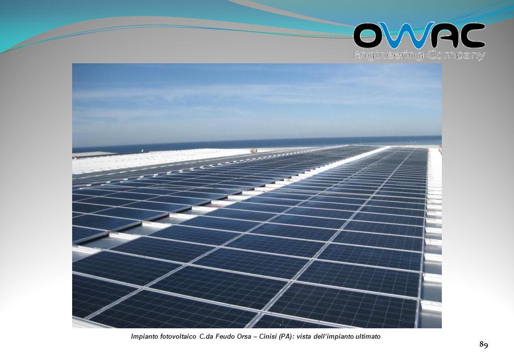 Impianto fotovoltaico C