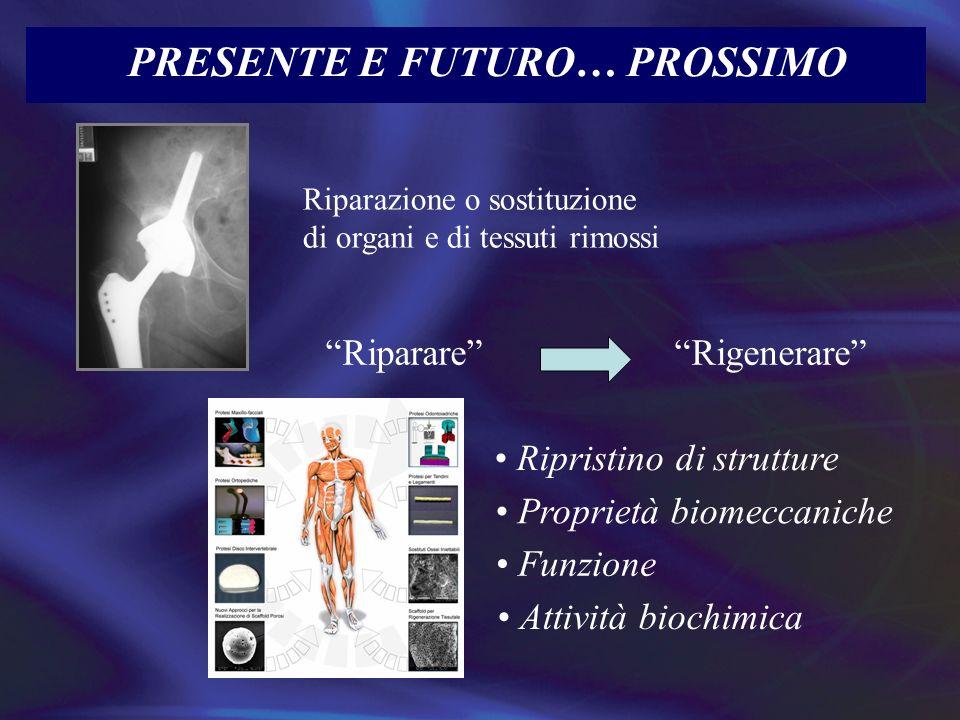 PRESENTE E FUTURO… PROSSIMO