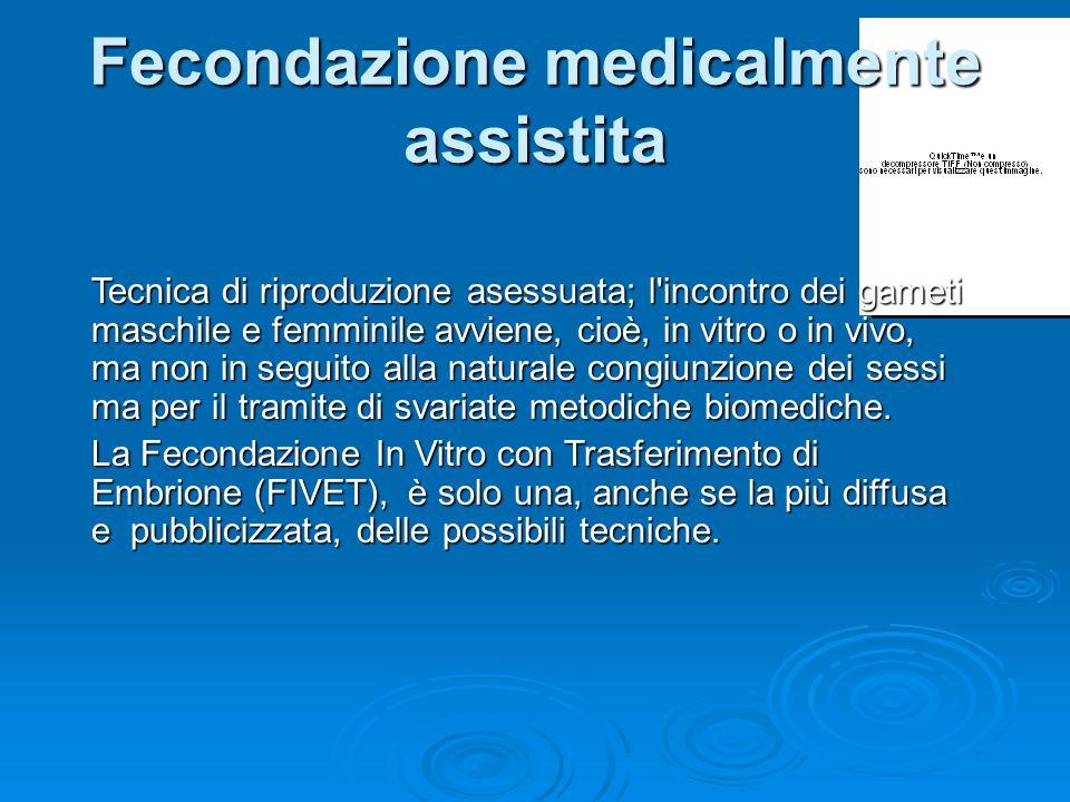 Fecondazione medicalmente assistita