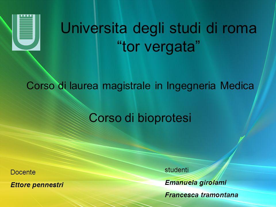 Universita degli studi di roma tor vergata