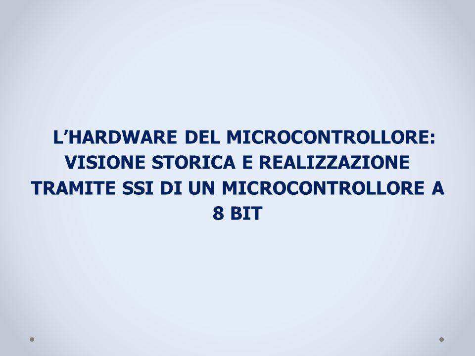 L'HARDWARE DEL MICROCONTROLLORE: VISIONE STORICA E REALIZZAZIONE TRAMITE SSI DI UN MICROCONTROLLORE A 8 BIT