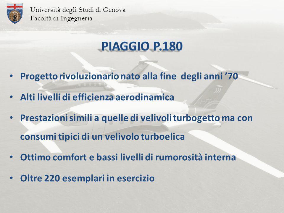 Piaggio P.180 Progetto rivoluzionario nato alla fine degli anni '70