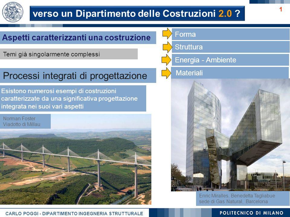 verso un Dipartimento delle Costruzioni 2.0