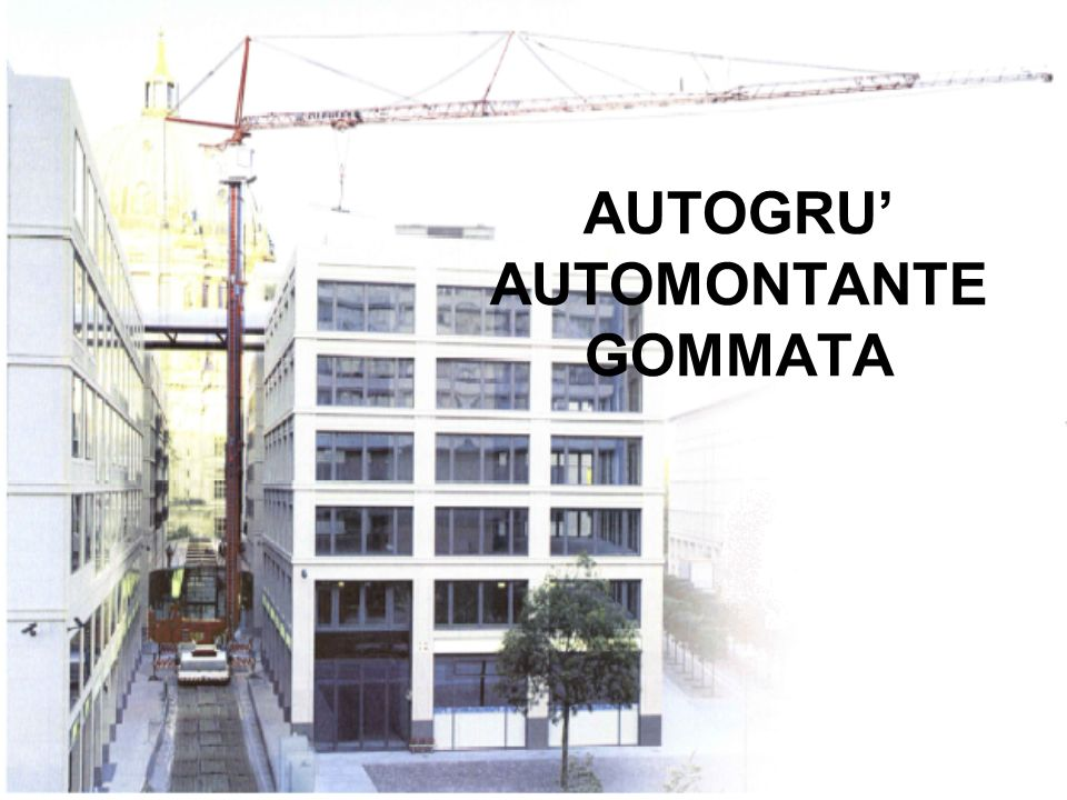 AUTOGRU' AUTOMONTANTE GOMMATA