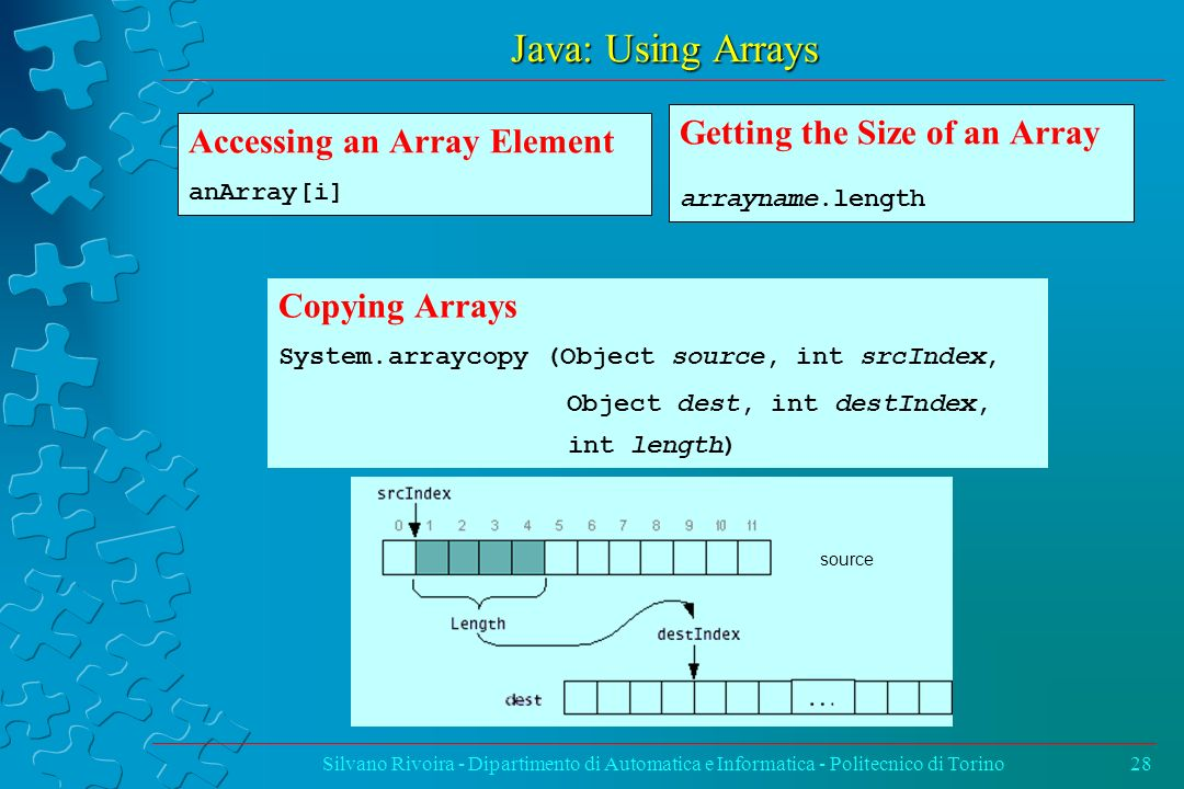 Java: Using Arrays Getting the Size of an Array