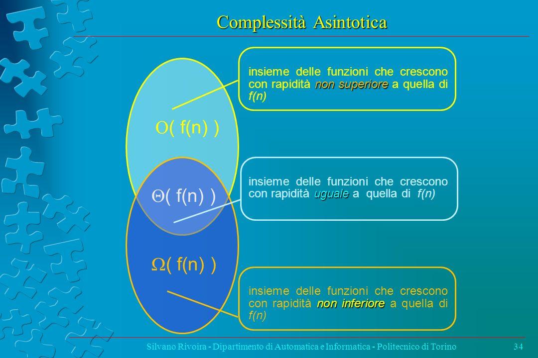 Complessità Asintotica