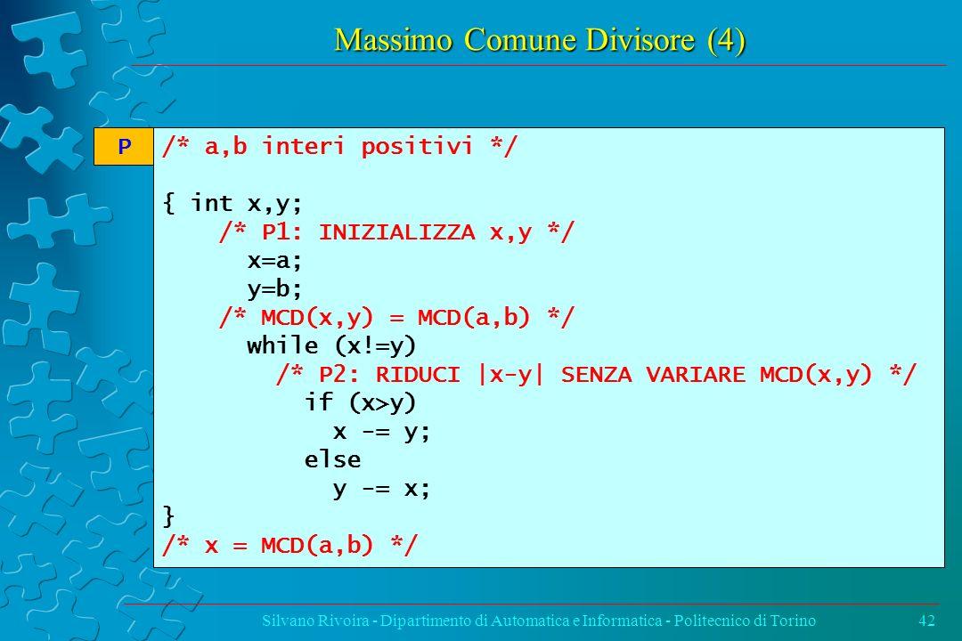 Massimo Comune Divisore (4)