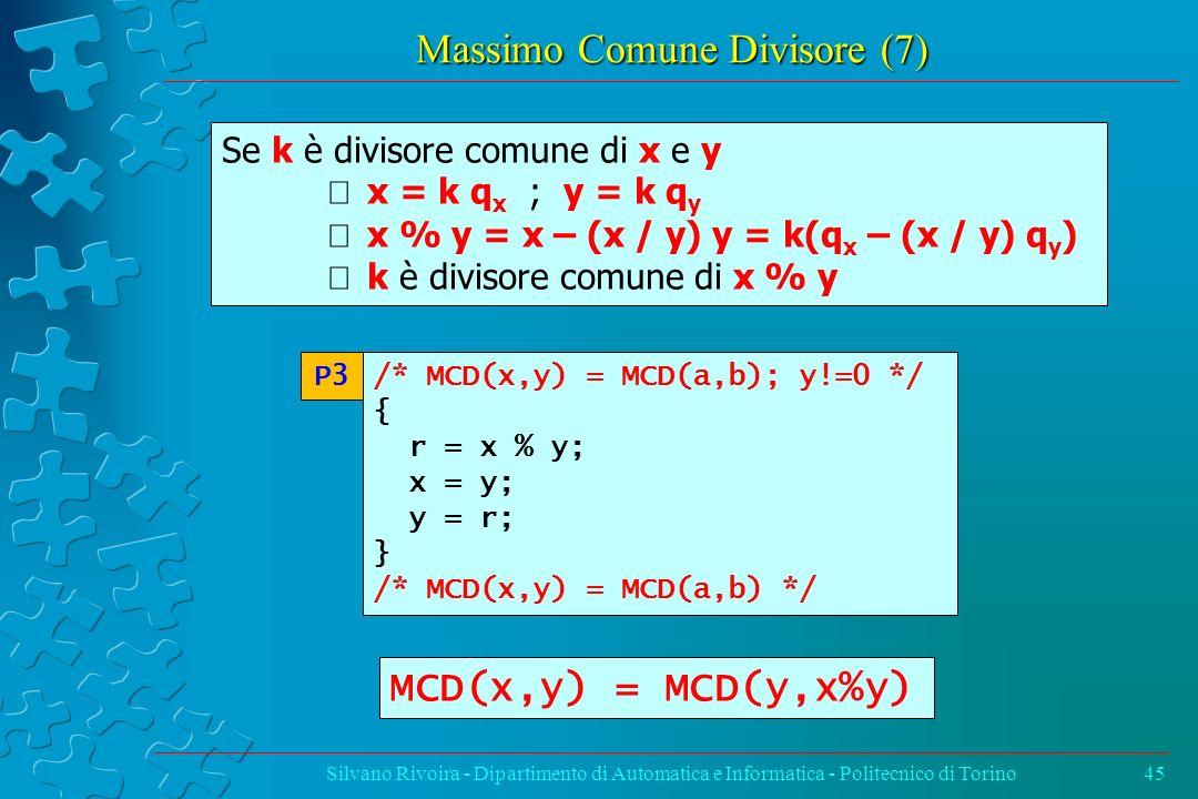 Massimo Comune Divisore (7)