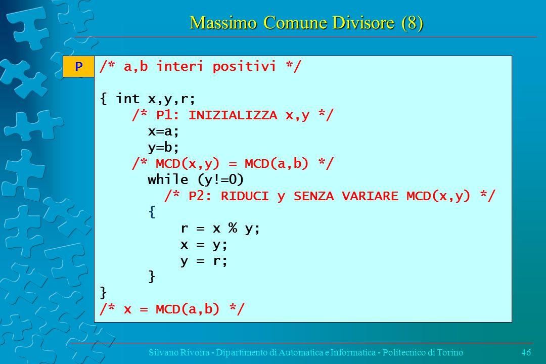 Massimo Comune Divisore (8)