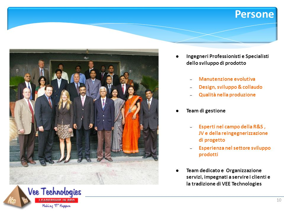 Persone Ingegneri Professionisti e Specialisti dello sviluppo di prodotto. Manutenzione evolutiva.