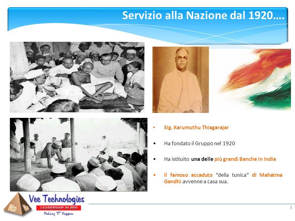 Servizio alla Nazione dal 1920….