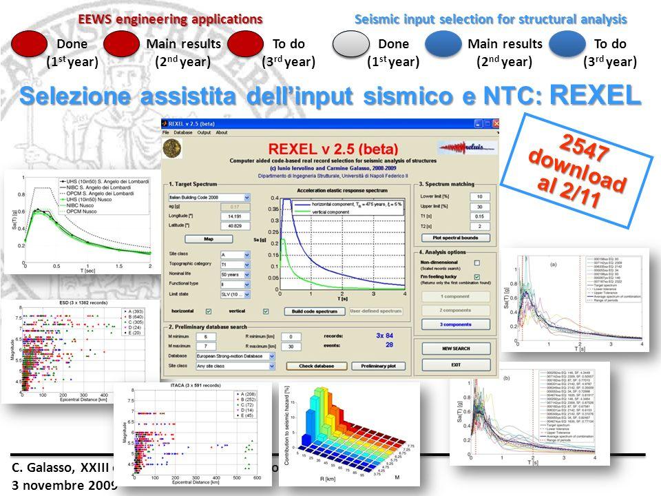 Selezione assistita dell'input sismico e NTC: REXEL