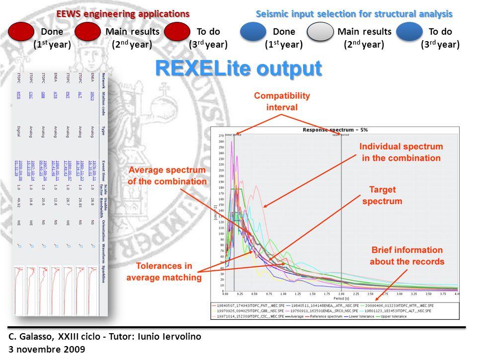 REXELite output