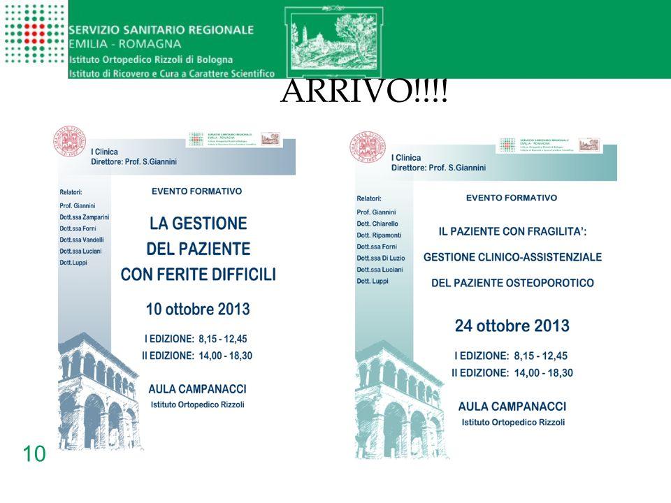 ARRIVO!!!!