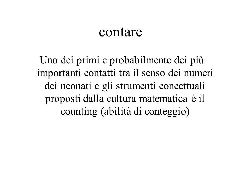 contare