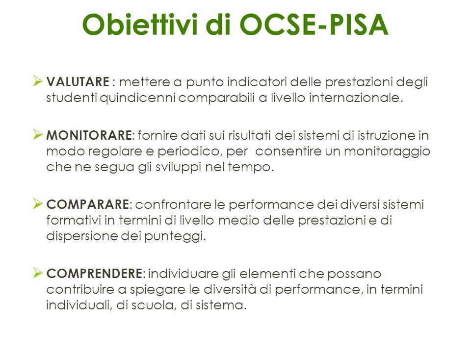 Obiettivi di OCSE-PISA