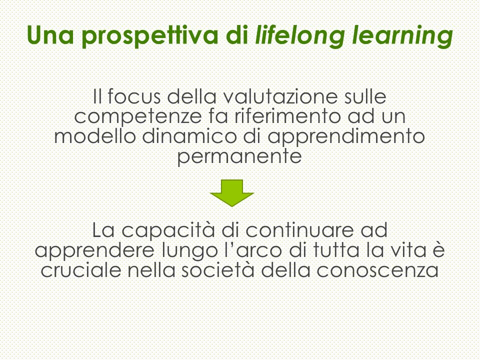 Una prospettiva di lifelong learning