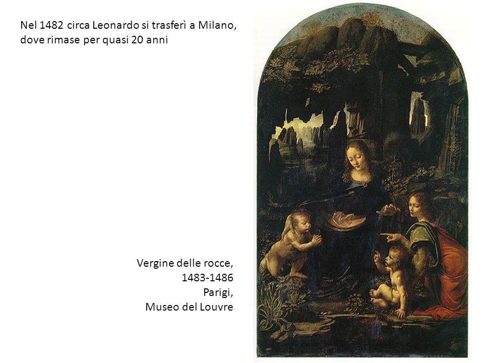 Nel 1482 circa Leonardo si trasferì a Milano, dove rimase per quasi 20 anni